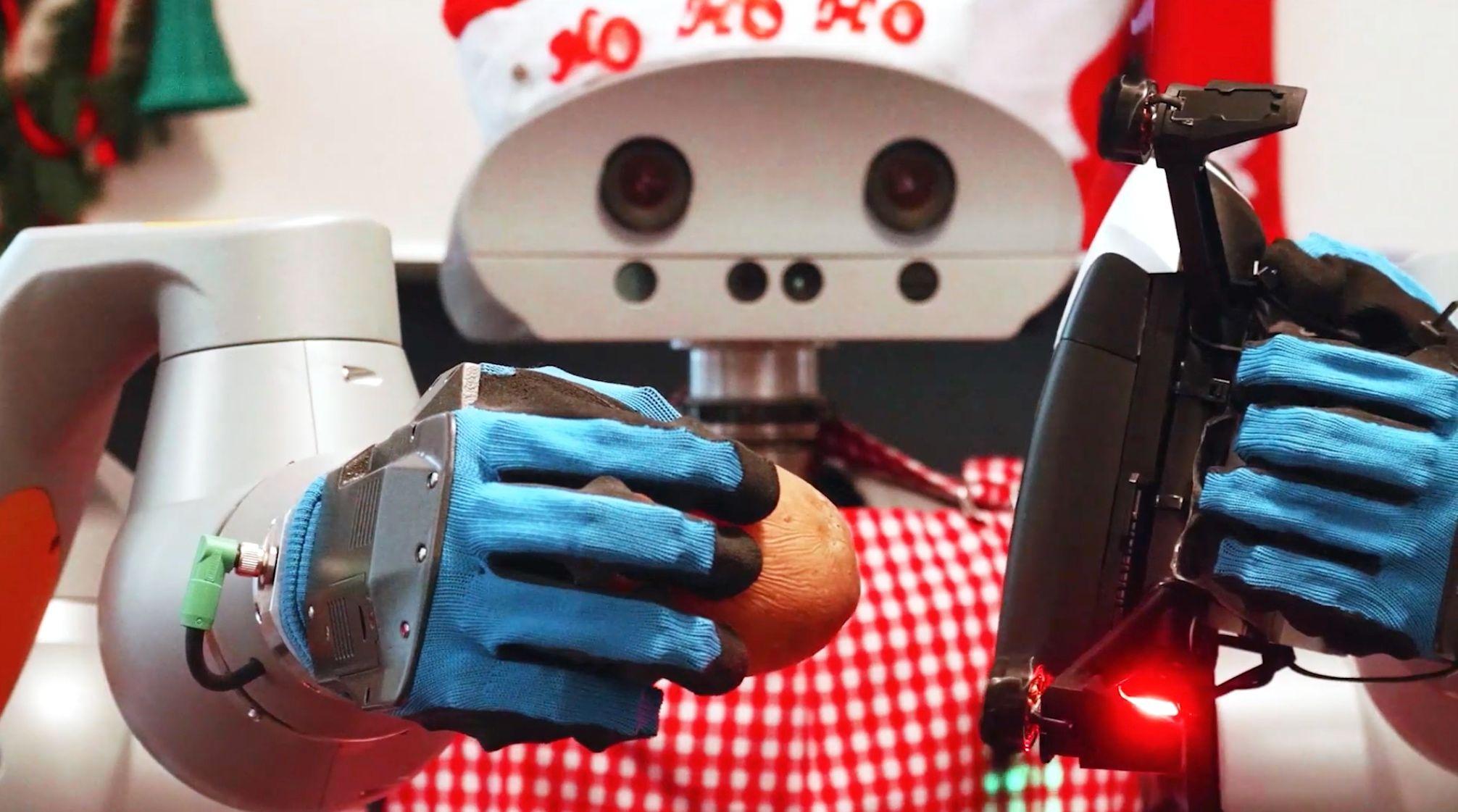 FZI happy holidays from robots