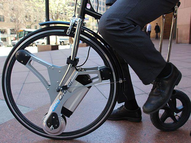 Georbital's electric bicycle wheel.