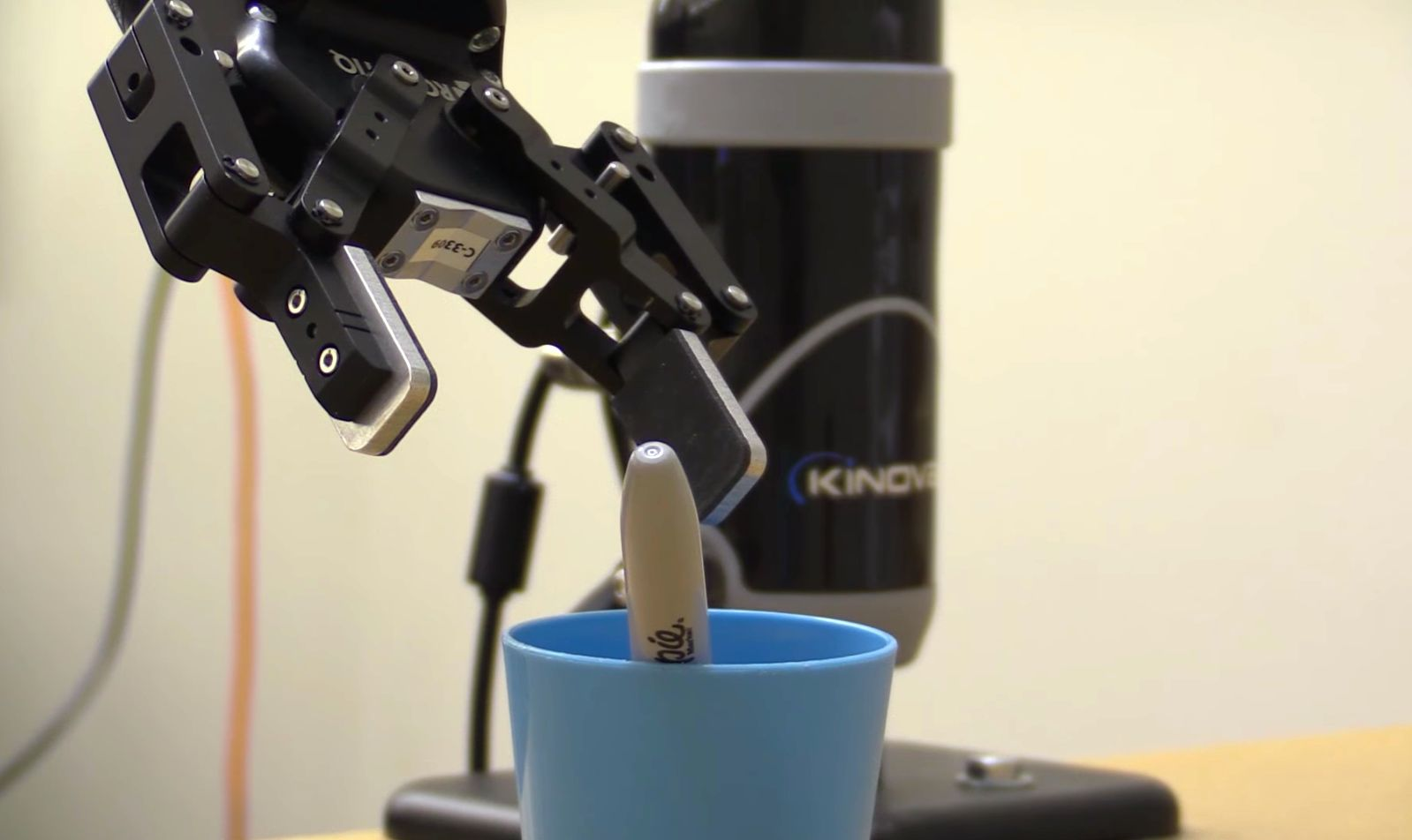 Georgia Tech researchers developed a novel point-and-click robot grasping system