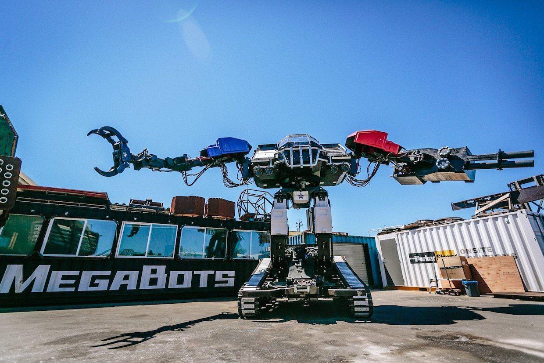 Giant Robot Duel