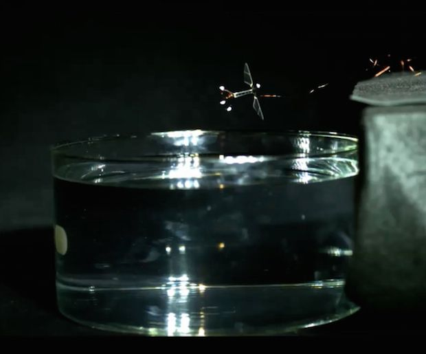Harvard's Robot Bee Is Now Also a Submarine