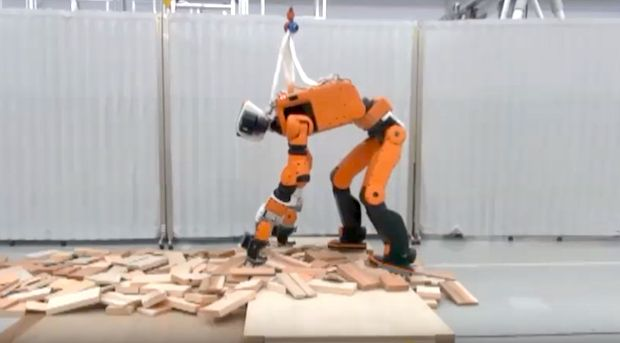 Honda's humanoid robot E2-DR for disaster response
