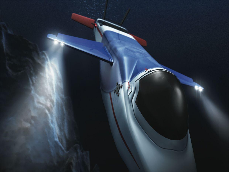 illustration depicting experimental vehicle.