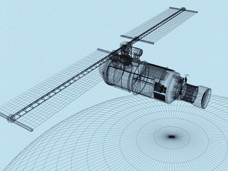Illustration imagining a satellite redesign