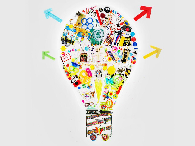 Illustration of a light bulb.