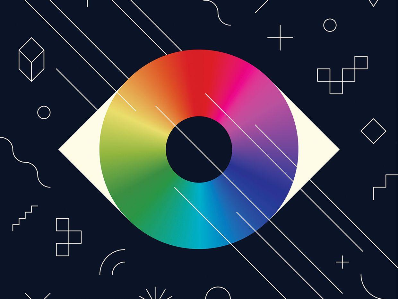 Illustration of an eye.