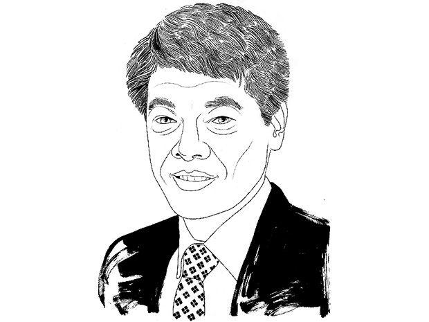 Illustration of Kevin Fu.