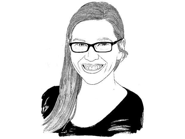 Illustration of Theresa MacPhail.