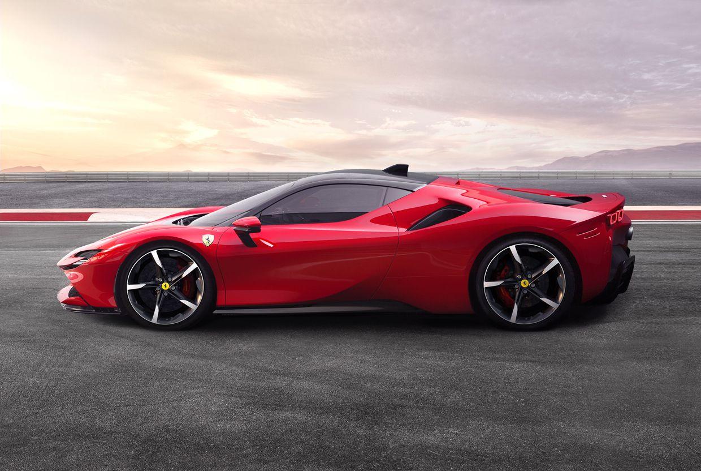 Image of the 2021 Ferrari SF90 Stradale.