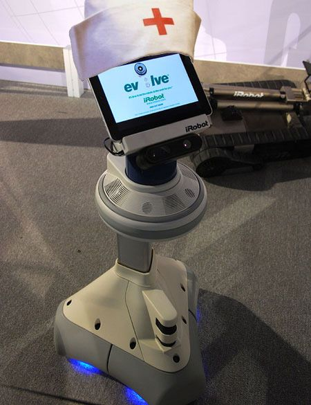 iRobot Partners With InTouch, Ava to Start Caring About Your Health