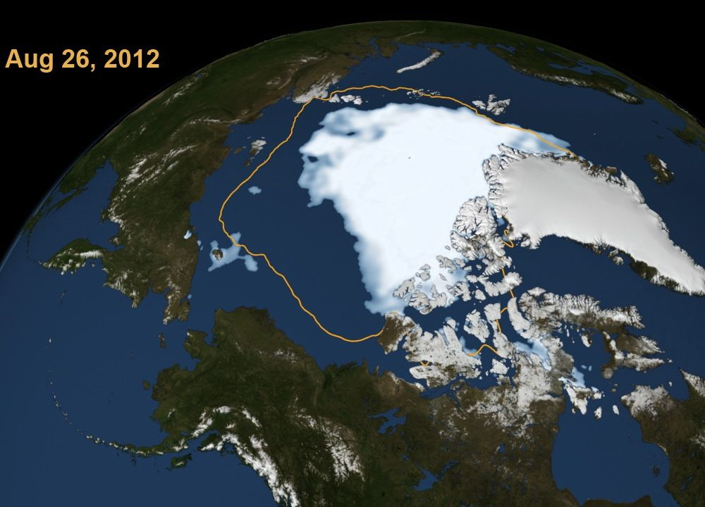 Ice-free Arctic Would Allow Exploitation of the Area's Riches