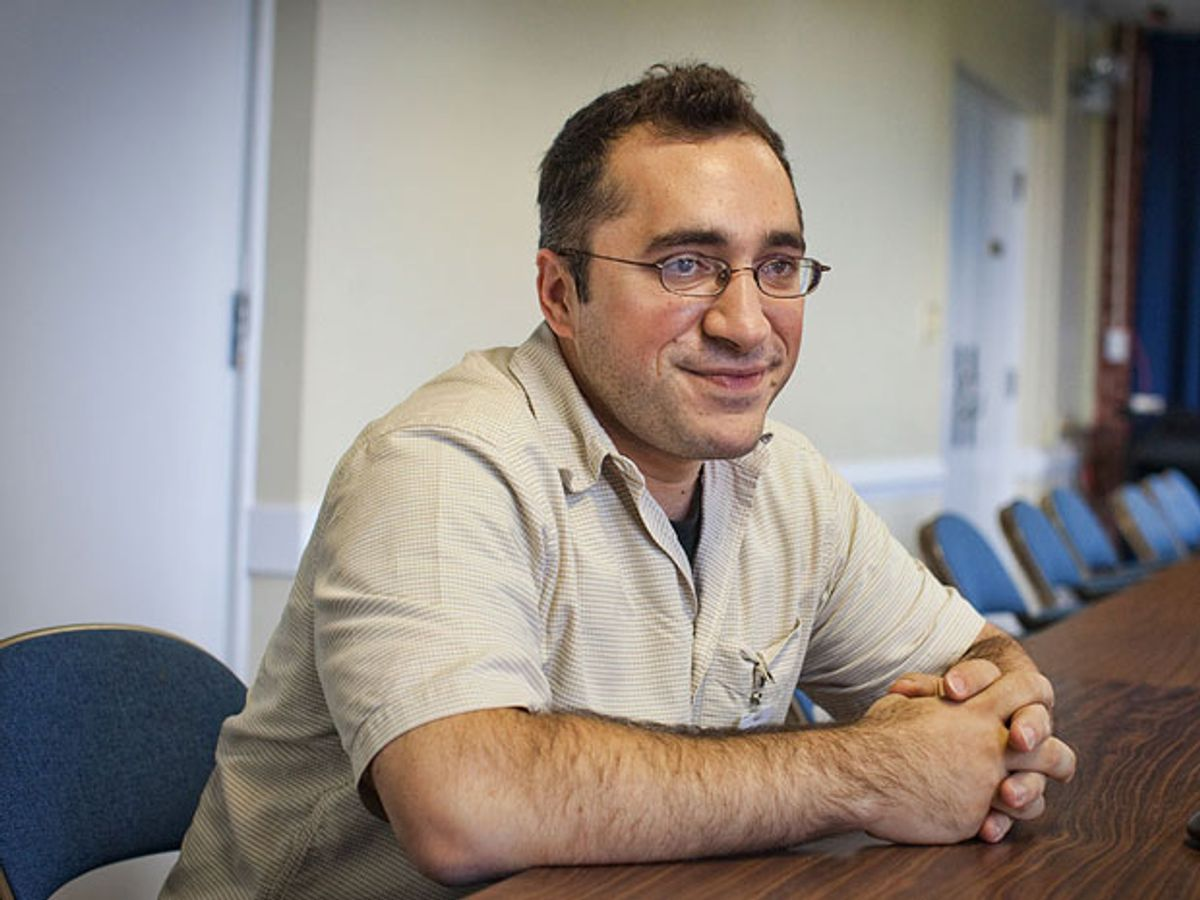 Babak Parviz, head of the Google Glass project
