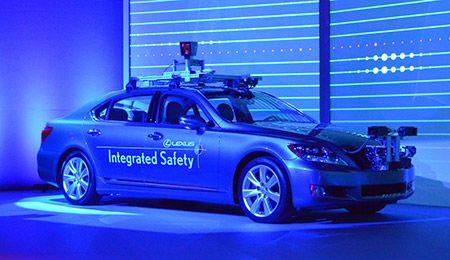 Toyota's Semi-Autonomous Car Will Keep You Safe