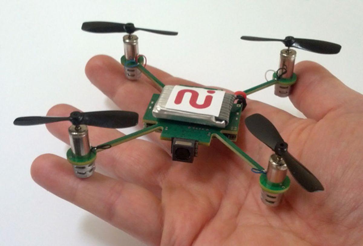 MeCam Is a $50 Camera-Equipped Autonomous Nano Quadrotor, Supposedly