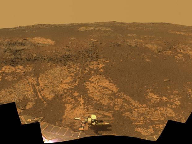 Opportunity Rover Begins Tenth (!) Year On Mars