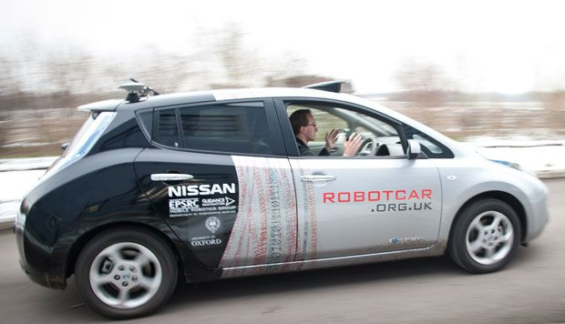 UK Unveils 'Affordable' Self-Driving RobotCar