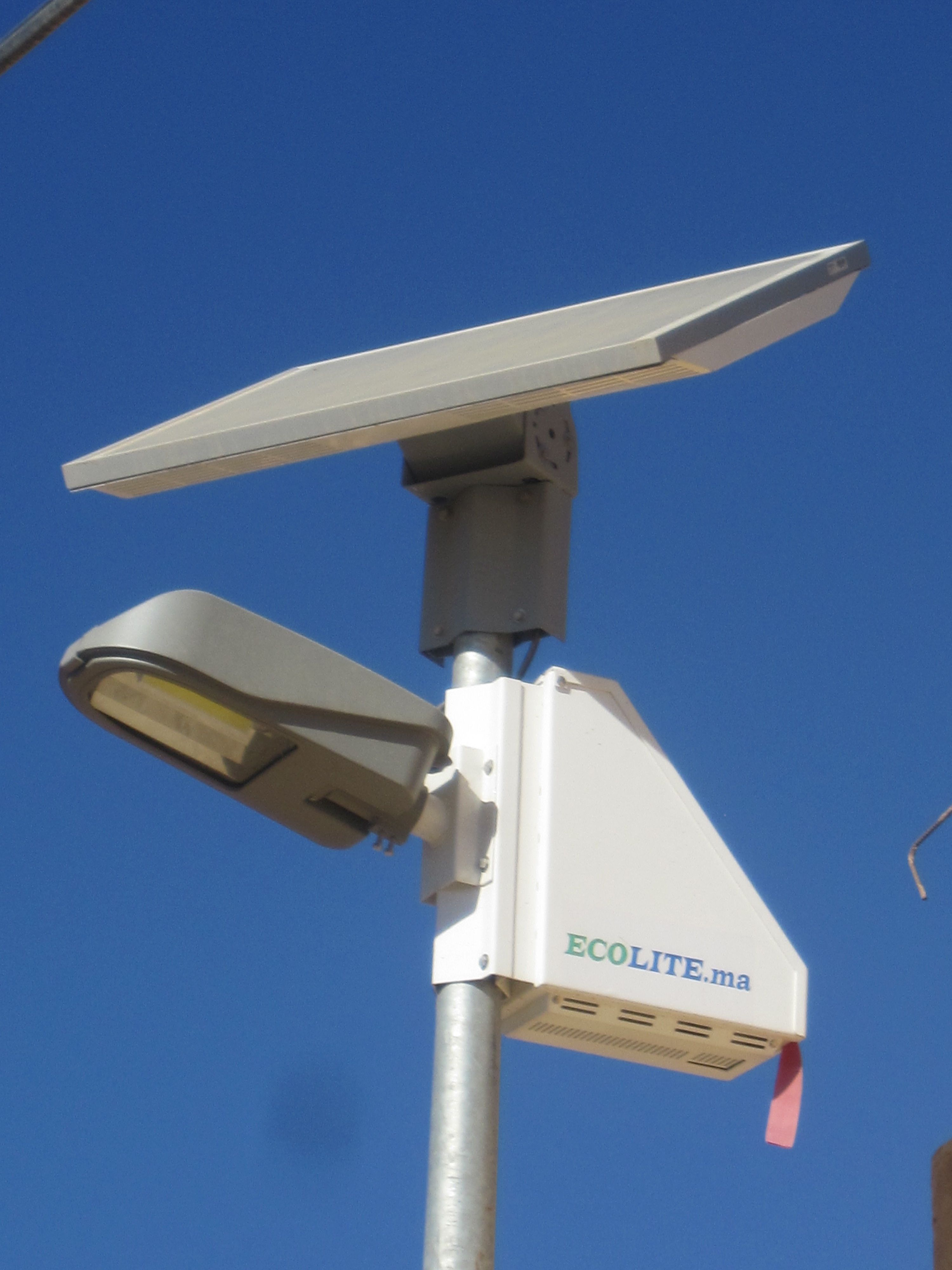 Moroccan Solar Streetlighting