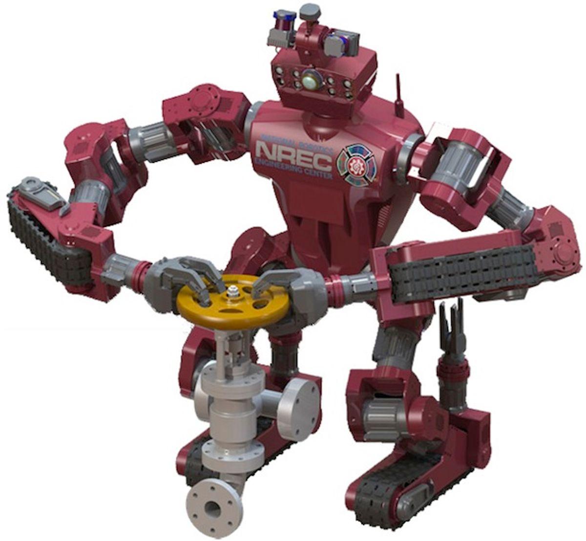 CMU's CHIMP Humanoid Robot Moves Like a Tank