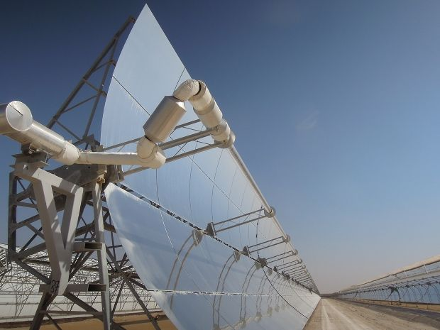 Emirati Eminences Turn Out for World's (Sort Of) Biggest Concentrated Solar Plant Inauguration