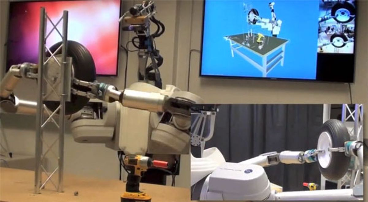 DARPA ARM Robot Can Now Change Your Tires
