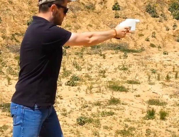 3-D Printed Gun's First Shot Has Big Implications