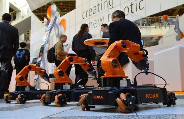 Kuka Robot Competition Offers 20,000-Euro Award