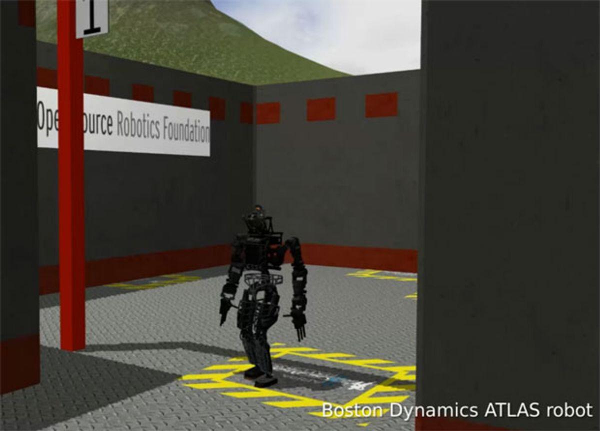 DARPA's Virtual Robotics Challenge: OSRF Gets Simulator Ready