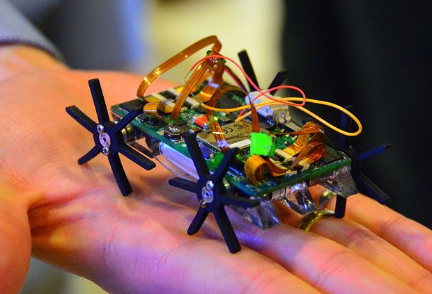 Miniature Quadruped Robot Is Blazingly Fast