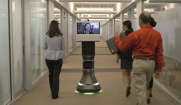 iRobot and Cisco Team Up to Create Ava 500 Telepresence Robot