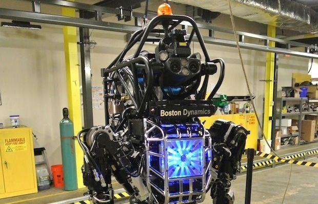 Video: Boston Dynamics' Atlas Robot Revealed