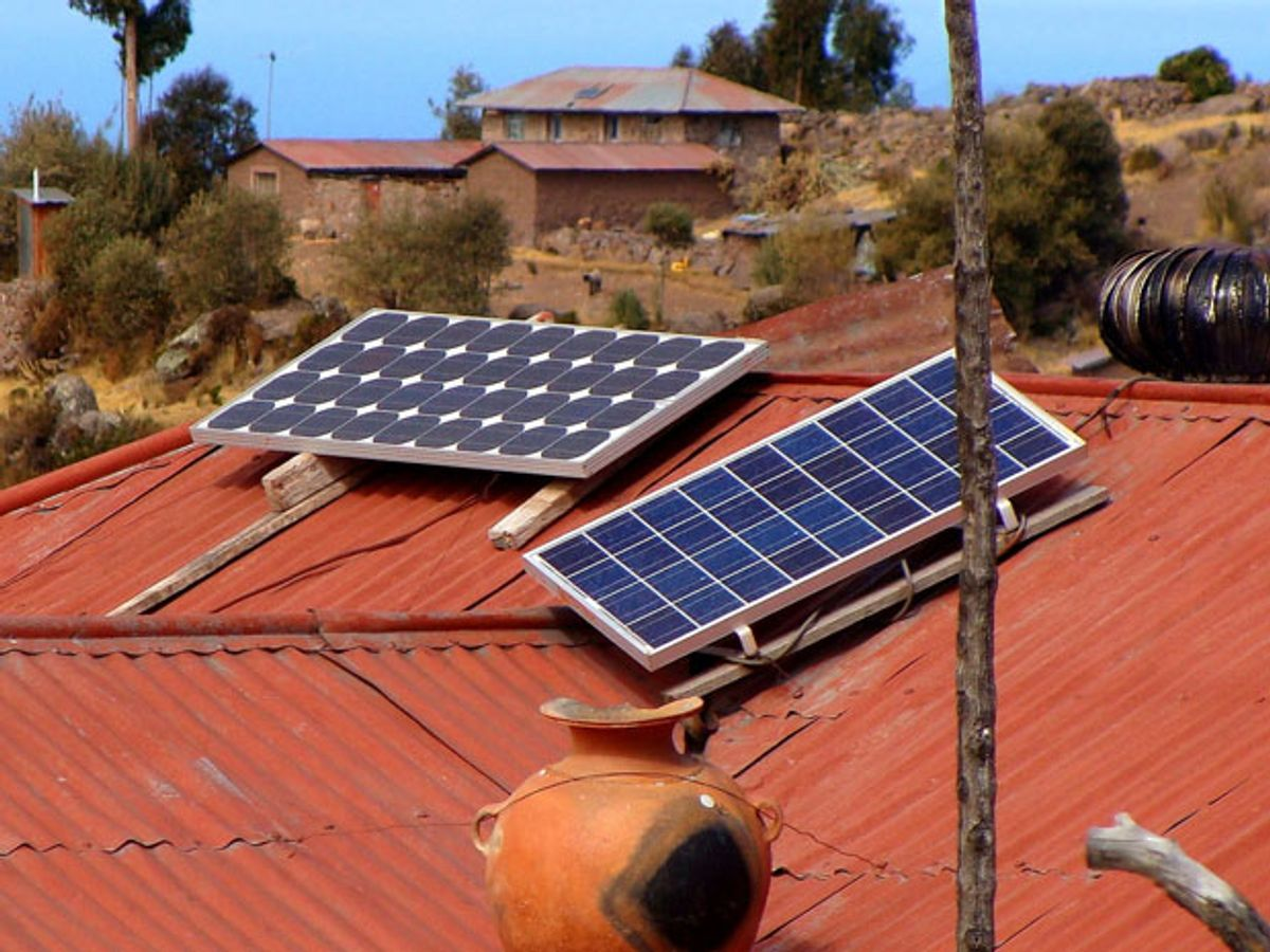 Peru Will Provide Solar Power to Half a Million Poor Households