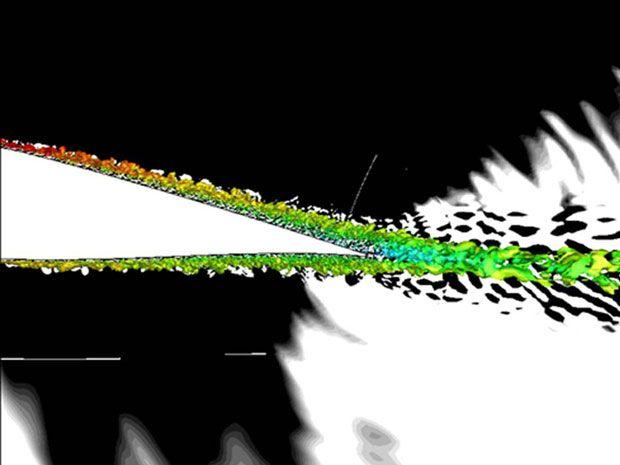 Supercomputing a Quieter Wind Turbine
