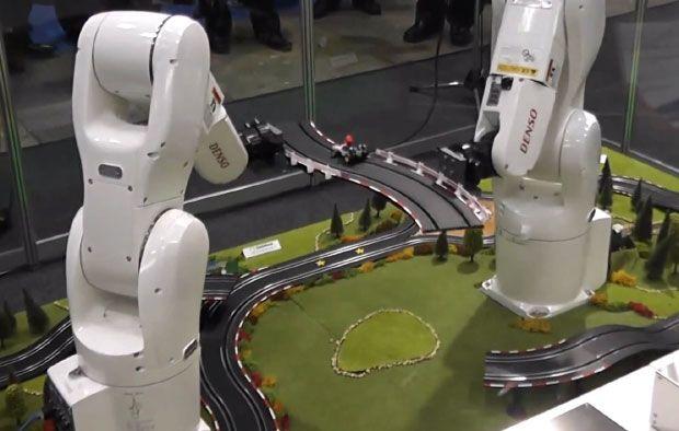 Video Friday: Retro Robots, Mobile Manipulation, and Mario