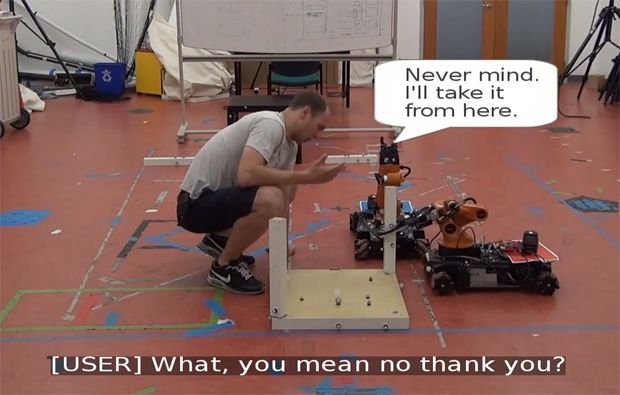 Robots Learning Better Ways to Ask Clueless Humans for Help