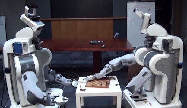 Video Friday: PR2 Surrogates, Zombie F-16s, and Bot & Dolly's Box