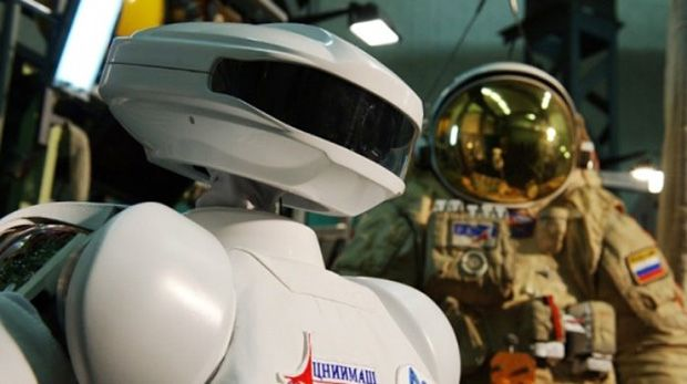 Russian Robonaut to Travel to Space Station Within Two Years