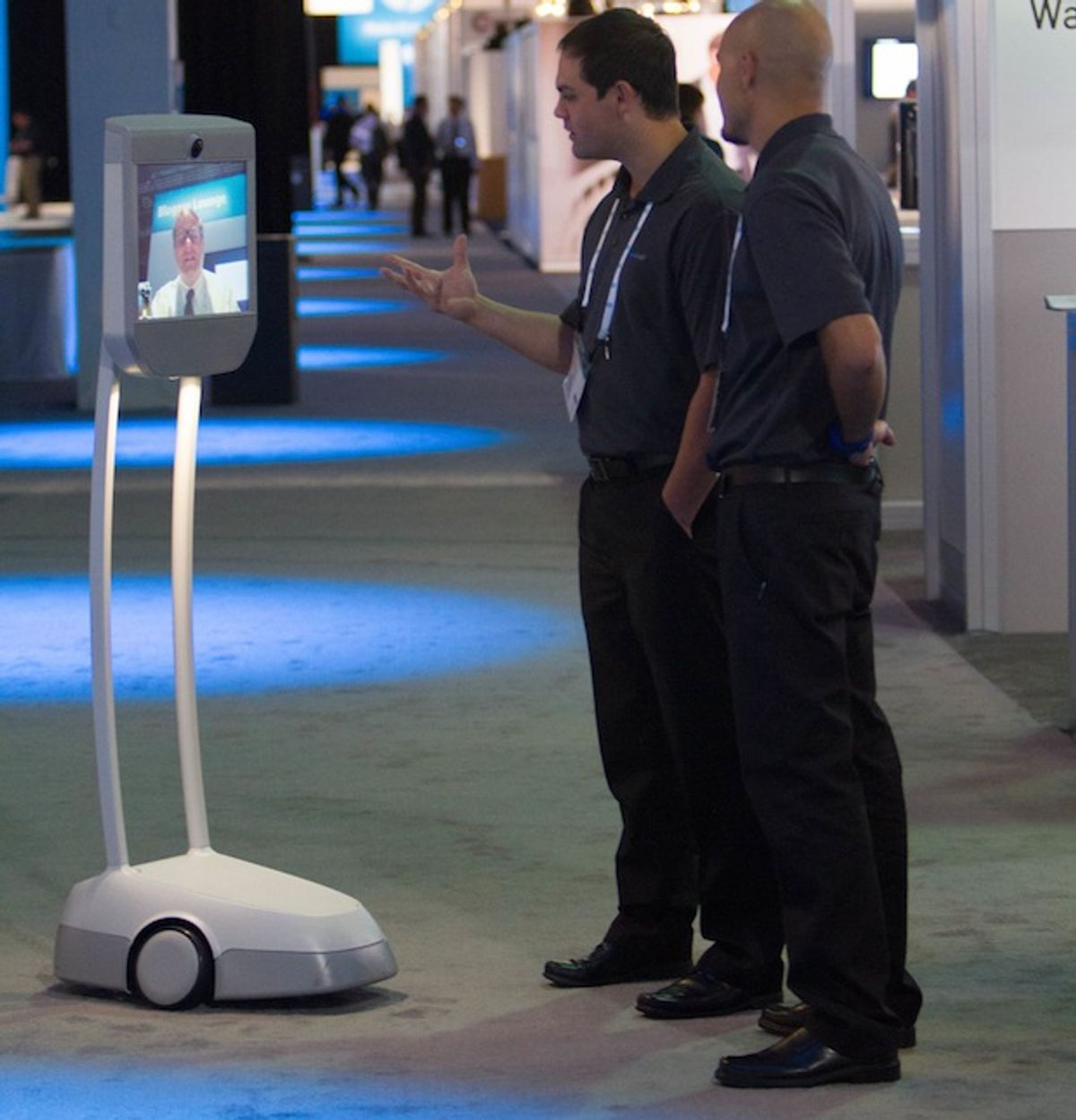 How to Attend Next Week's RoboBusiness Conference as a Robot