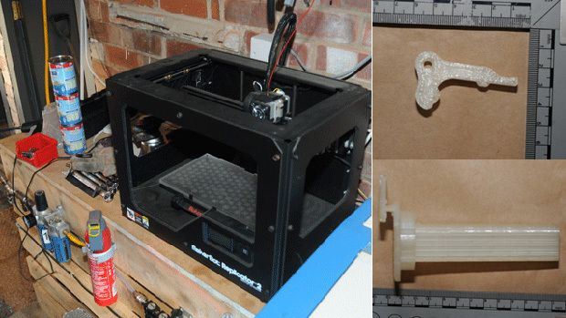 UK Police Claim To Have Seized Their First 3-D Printed Gun Parts