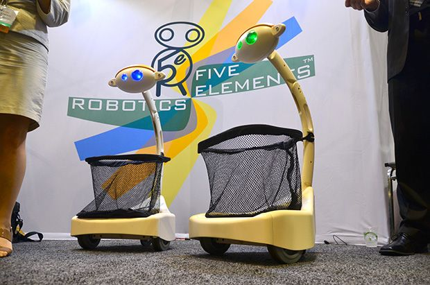RoboBusiness 2013: A Robot to Carry Your Stuff