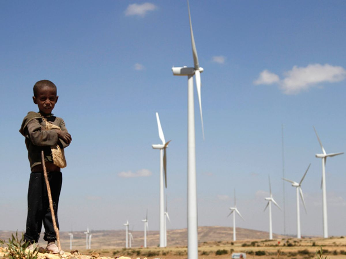 Ethiopian Wind Farm Adds Five Percent of Country's Total Electricity Capacity