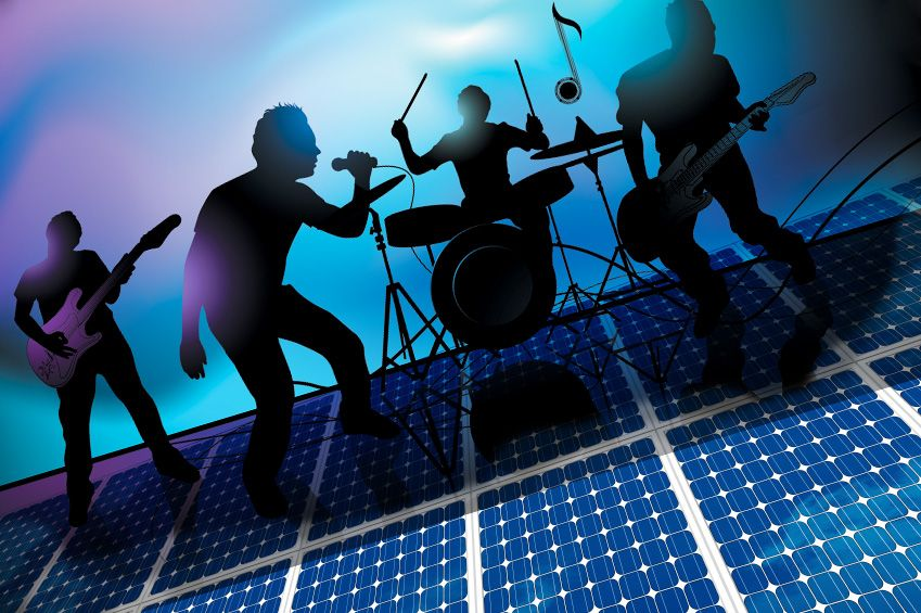 Good Vibrations Boost Solar Cell Performance