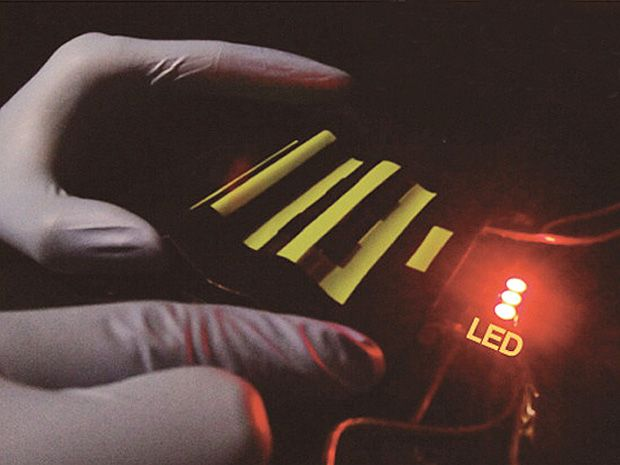 Batteries Woven Right Into Fabric Boost Wearable Tech