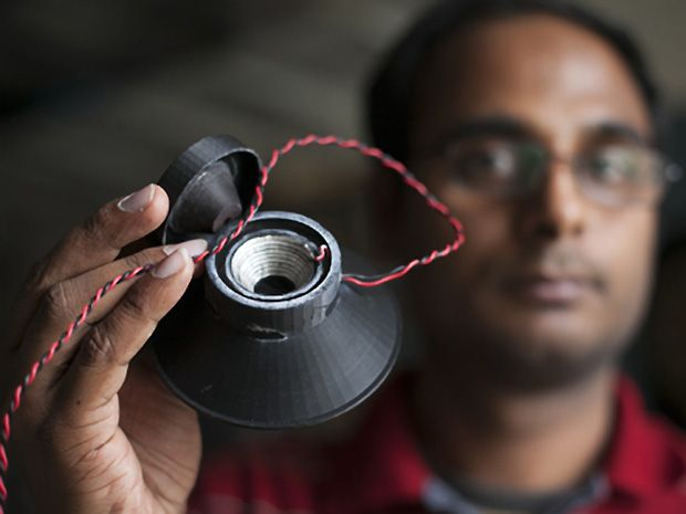First 3-D Printed Loudspeaker Hints at Future of Consumer Electronics