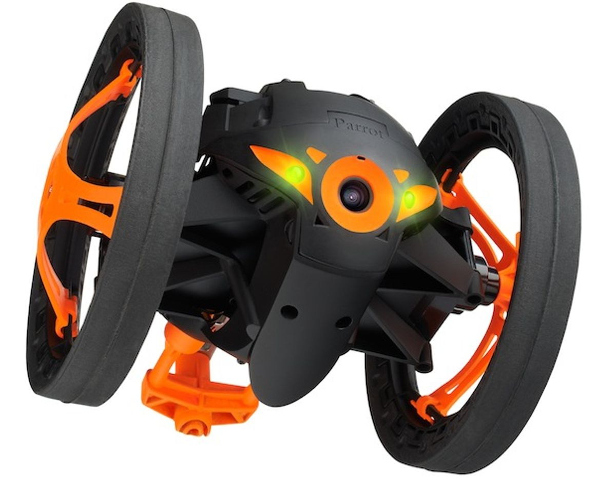 Parrot Unveils Jumping Robot and Wheeled Quadcopter [New Videos and Details]