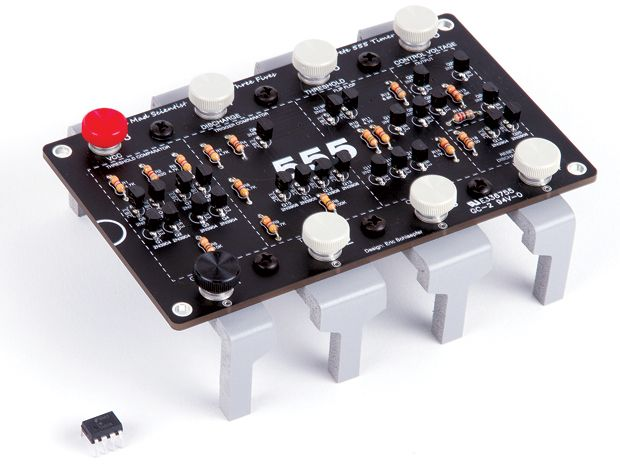 Build Your Own Giant 555 Timer Chip
