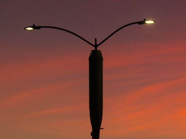 Can Internet Infrastructure Pay for LED Street Lights?