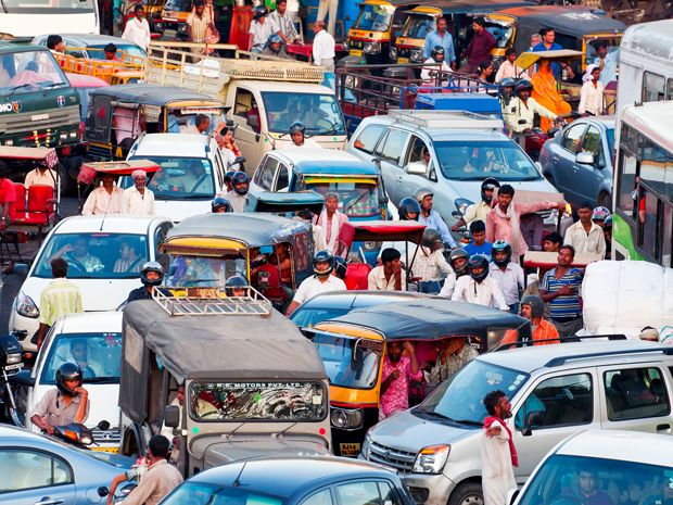 Hybrids Are a Perfect Fit for Traffic Jams of India and China