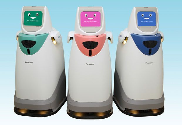Panasonic Revives Hospital Delivery Robot