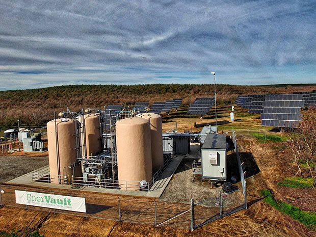 Iron-Chromium Flow Battery Aims to Replace Gas Plants