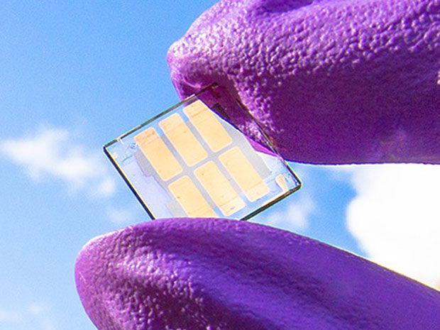 Quantum Dot Solar Cells Break Conversion Efficiency Record